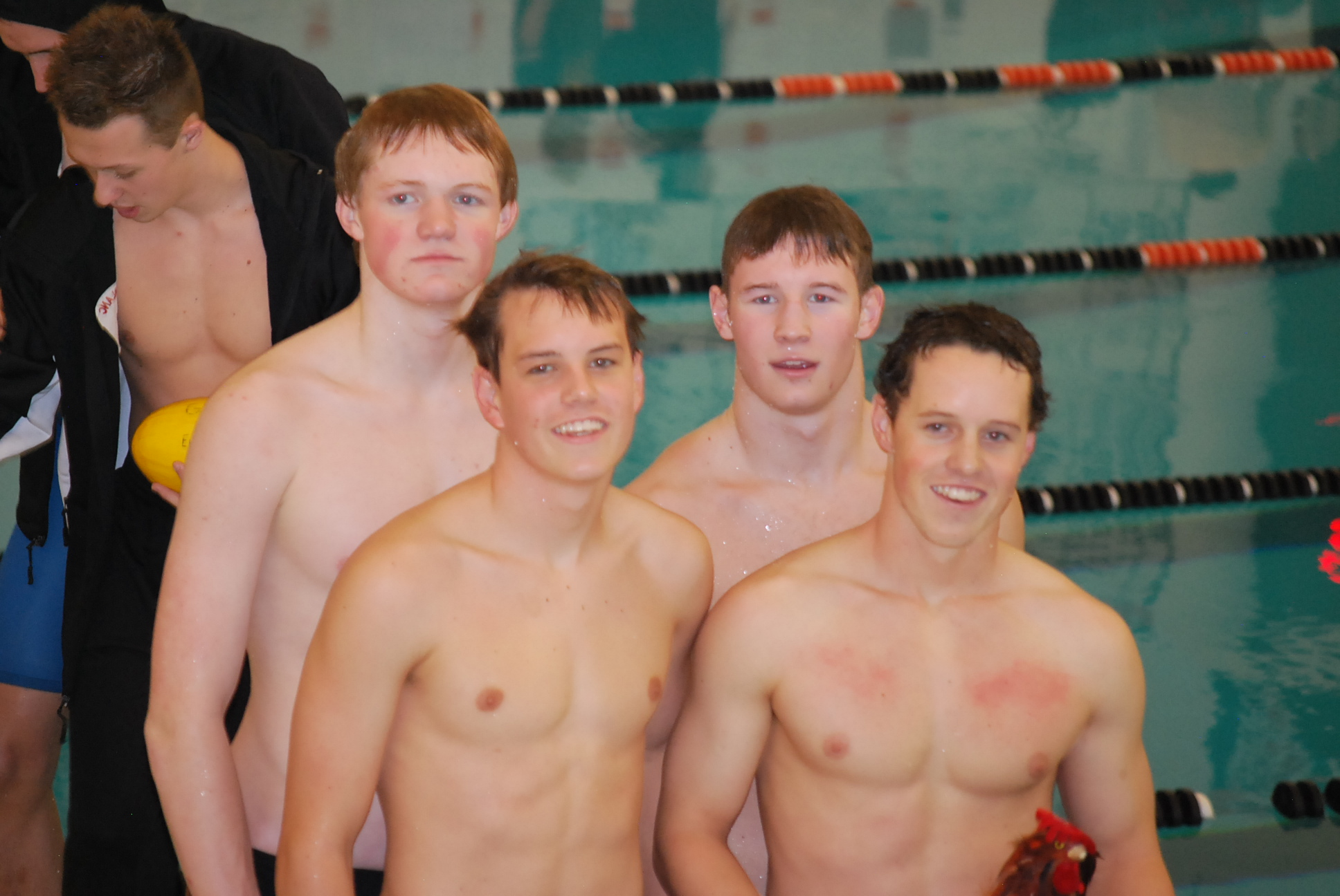 Boys Varsity Swim Team finishes 3rd at the County Meet!