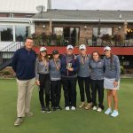 Girls Varsity Golf finishes 3rd place at Davison Inv