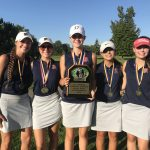 Girls Varsity Golf finishes 1st place at Genesee County Championship