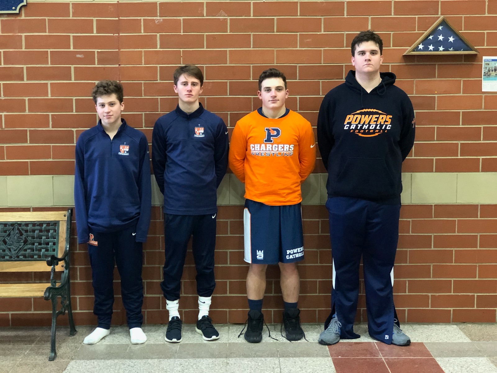 Varsity Wrestling Competes at Individual Districts; Spidle Pins his Way to Title