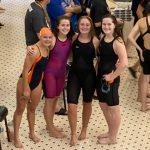 Girls Swim and Dive takes 3rd at Genesee County Meet