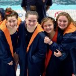 Girls Swim and Dive Breaks School Relay Record at State