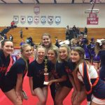 Girls Varsity Competitive Cheer finishes 2nd place at Perry Winter Classic