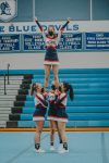 Girls Varsity Competitive Cheer finishes 4th place at Lakewood Invite