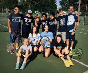Middle School Tennis 2015