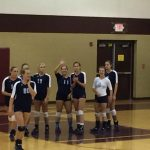 Volleyball battles Williamstown in Scrimmage