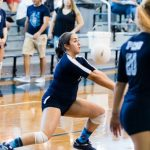 Crusaderette Volleyball defeats Magnolia in Five