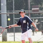 Boys' Tennis sweeps Williamstown