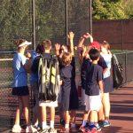 Middle School Tennis defeats Marietta Middle