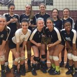 Crusaderette Volleyball finishes Runner up at LKC Challenge