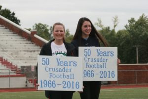 50 Years of Crusader Football