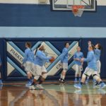Crusaderettes Victorious on Senior Night