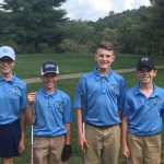 Middle School Golf Second in Scramble