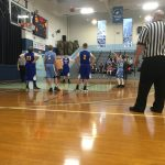 Boys Middle School Basketball falls to St. John's Marietta 43 – 42