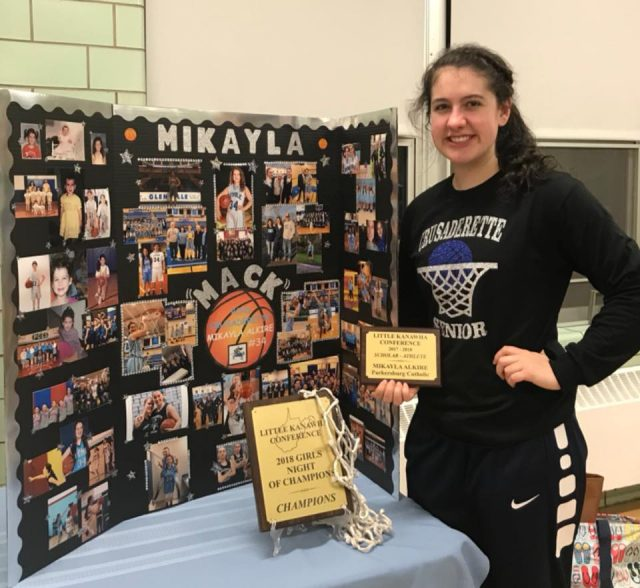 Mikayla Alkire Student Athlete of the Week