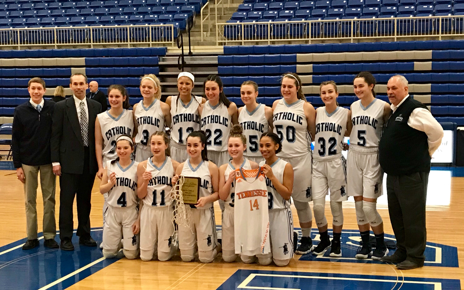 Crusaderettes Claim 2nd Straight LKC Title