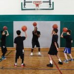Knights Basketball Technique Camp