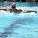 Varsity Swimming Has Solid Success at Two Invitationals