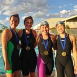 Varsity Swimming finishes 4th place at Small Schools Championship