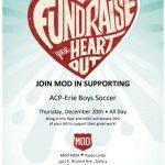 Boy's Soccer Fundraiser