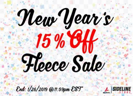 BSN New Year's Fleece Sale
