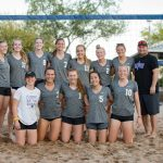 Girls Varsity Beach Volleyball beats Trivium Preparatory Academy 3 – 2