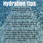 5 Healthy Hydration Tips