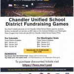 CUSD Fundraising at ASU Football