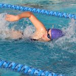 Knight Swimmers Host Seton and Scottsdale Prep