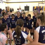 Girls Fr/So Volleyball beats Blue Ridge 2 – 0