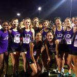 Girls Varsity Cross Country finishes 4th place at Desert Twilight