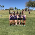 Girls Varsity Cross Country finishes 1st place at Titan Invitational