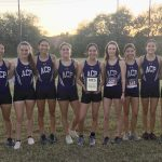 Girls Varsity Cross Country finishes 1st place at NCS Invitational