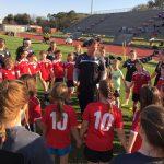 James Island Charter High School Girls Varsity Soccer beat Ashley Hall 5-1