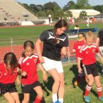 James Island Charter High School Girls Varsity Soccer beat Bishop England High School 2-1