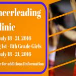JICHS Cheerleading Camp Registration is Open