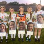 James Island Charter High School Girls Varsity Soccer beat Goose Creek High School 8-0
