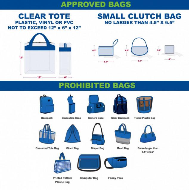 JICHS Athletics Clear Bag Policy