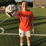 Girls Soccer Wins  and Carter Scores 100th Career Goal!