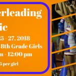 Trojan Cheerleading Clinic Information