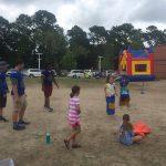 JI Football Volunteers at Harbor View Elementary