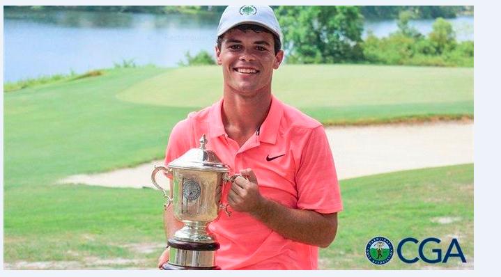 Stewart Wins First Major Jr. Tournament