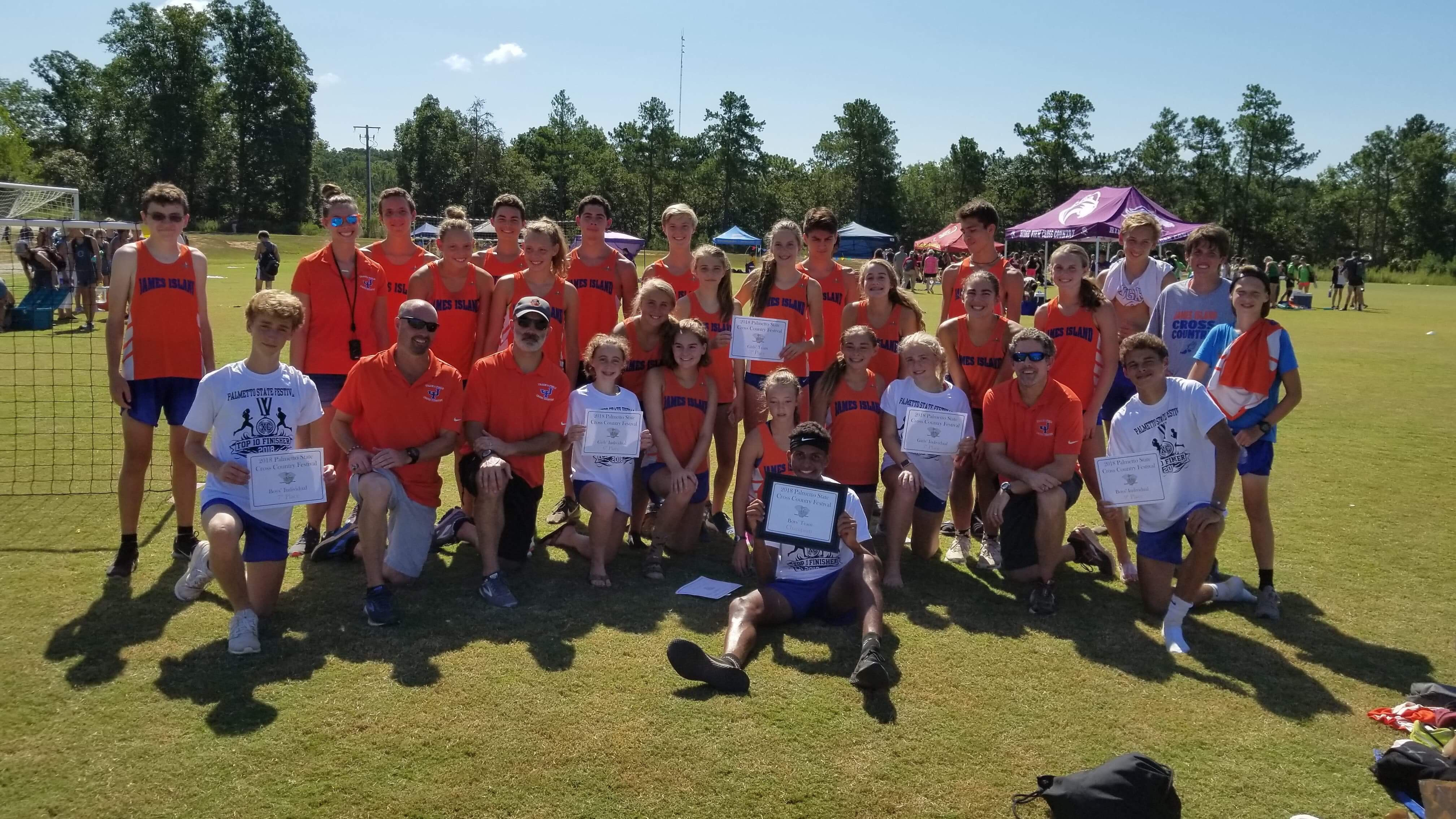 Cross Country Places 2nd at the CIU Invitational