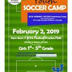 JICHS Women's Soccer Fundraising Camp