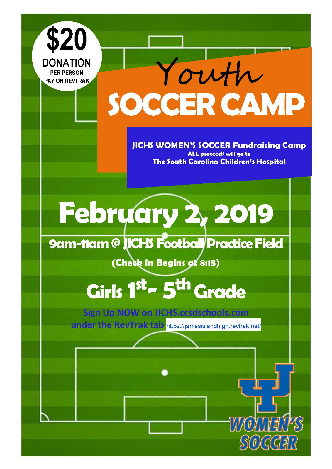 Girls Soccer Camp Cancelled