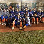 Girls Varsity Softball beats Northwood Acadmey 18 – 8
