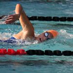 Girls Swimming sweeps Relays