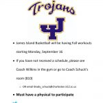 JI Basketball Fall Workouts