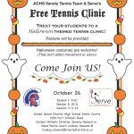 JICHS Girls Tennis Clinic