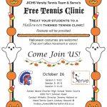 JICHS Girls Tennis Clinic